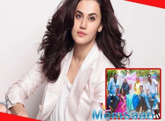 Taapsee and Bhumi are currently shooting for Saand Ki Aankh, This film based on world's oldest sharpshooters Chandro and Prakashi Tomar, and the actor says she decided to do the project as the story touched her heart.