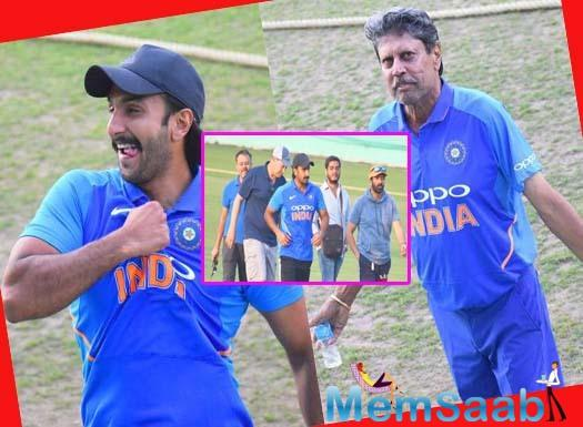 Kapil Dev had captained the Indian cricket team to victory in the 1983 World Cup. He had also coached the Indian cricket team from October 1999 to August 2000. The film is being directed by Kabir Khan.