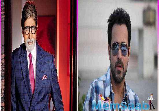 Writer-director Rumi Jaffrey adds on returning to direction with such a fascinating storyline and casting coup of getting Mr Bachchan and Emraan Hashmi together,