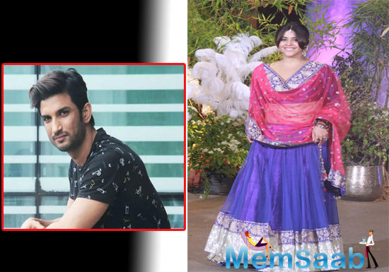 Sushant worked with actress Sara Ali Khan in