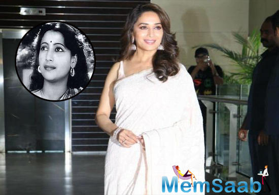 No sooner did Madhuri Dixit Nene enter the film industry, her beauty was compared to Madhubala. No prizes for guessing that 'The Venus Queen of Indian Cinema' is also Madhuri's favourite.