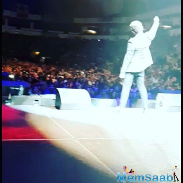 Sonu Nigam took to his Instagram account to share a series of images and video from his performance in Dallas and Boston.