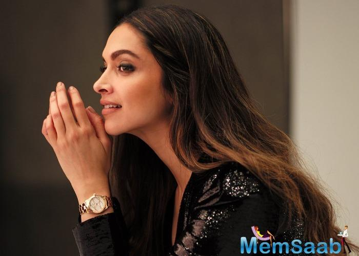 On the professional front, Deepika is currently shooting for Meghna Gulzar's Chhapaak that stars Vikrant Massey opposite her.