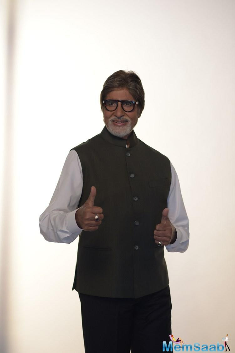 Amitabh Bachchan has lent support to the Maharashtra Fire Services Personnel Welfare Association's safety campaign, Chalo India. The one-minute film will be showcased in cinema halls.