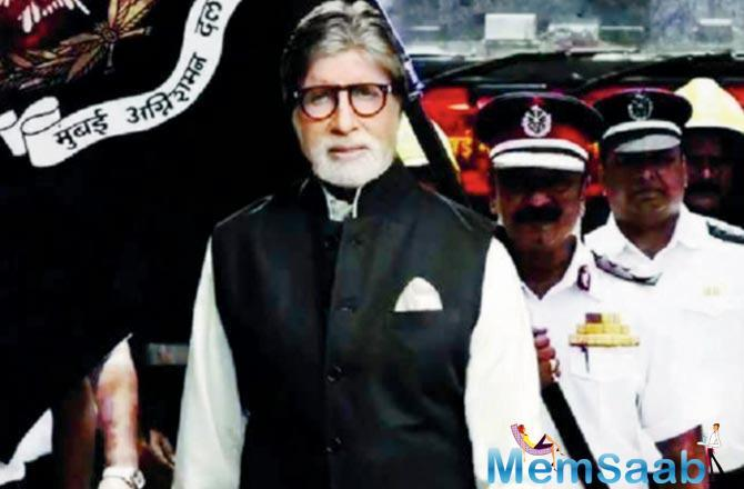 Amitabh urges people not to be careless because negligence can turn fatal.