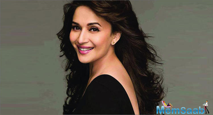 Madhuri features in the multi-starrer Kalank, alongside Sanjay Dutt, Varun Dhawan, Alia Bhatt, Sonakshi Sinha and Aditya Roy Kapur. The film, directed by Abhishek Verman, is releasing on Wednesday.