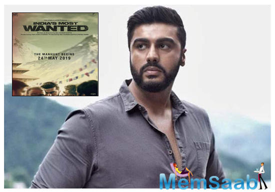 Arjun Kapoor's film is inspired by a secret manhunt that was conducted between 2012 and 2014 to capture one of the country's most dreaded terrorists. India's Most Wanted is the result of three years of research.