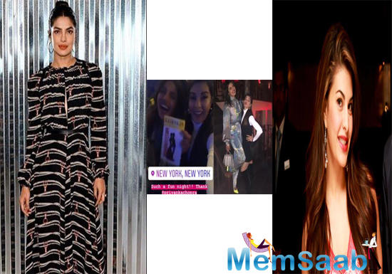 Priyanka Chopra is a busy woman but she knows how to take out time for her family and friends.