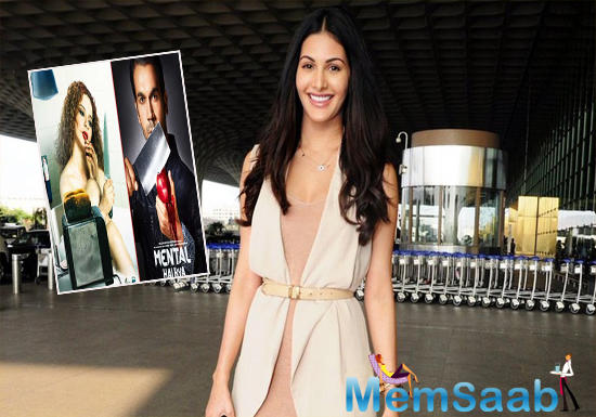 Amyra's character plays an important part in the development of both Kangana Ranaut and Rajkummar's characters.