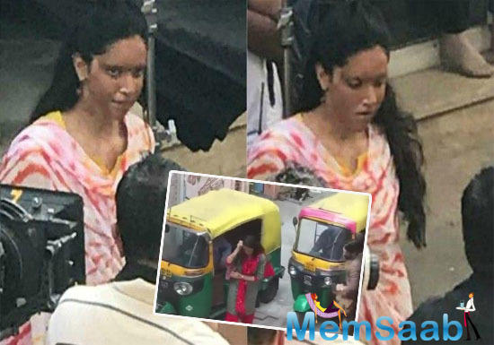 Once again, a new video has surfaced online, where we can see Deepika Padukone is seen getting down from public transport, a rickshaw in the middle of the busy streets of New Delhi.