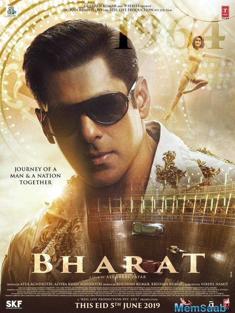 The one-minute and twenty-six-second teaser, unveiled in January, depicted Salman in several avatars, narrating the story of his character's life.