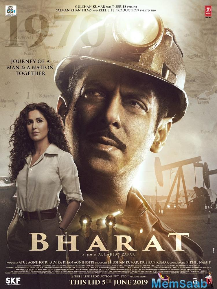 The trailer launch of Salman Khan's Bharat is just a week away, and the actor has been constantly treating fans with his looks from the film - the latest one being his all patriot avatar.