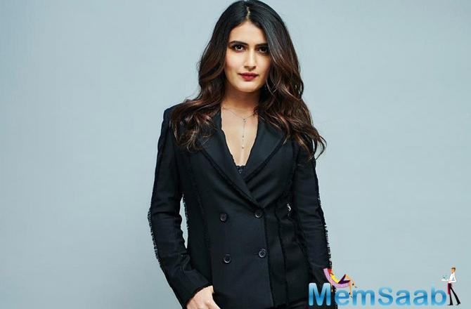 For a recent appearance at the red carpet, Fatima Sana Shaikh opted for a hot black pantsuit as she posed for the cameras.