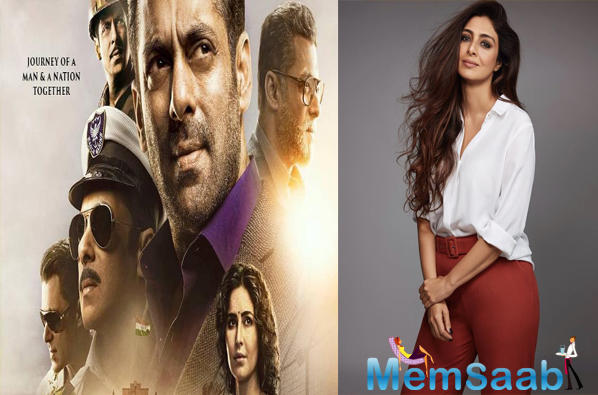 The 3-minute-long trailer saw Salman romancing Katrina and Disha Patani, Sunil Grover and Jackie Shroff were also seen in some of the sequences, but we didn't get to see Tabu anywhere. So, everybody wondered where the actress is?