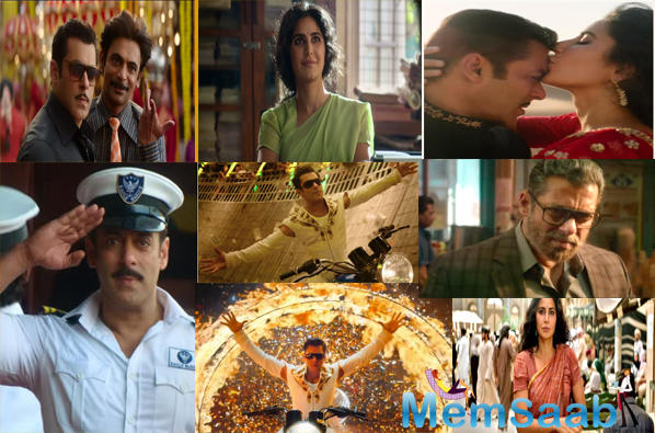 Talking about the trailer, it surely gives the feel of a typical Salman Khan film, where we see a lot of colour, dance, romance, action and patriotism.