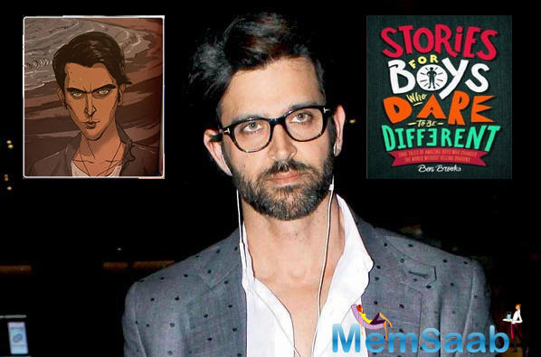 The book discusses Hrithik's journey, accounting the obstacles that he had to face growing up as a child.