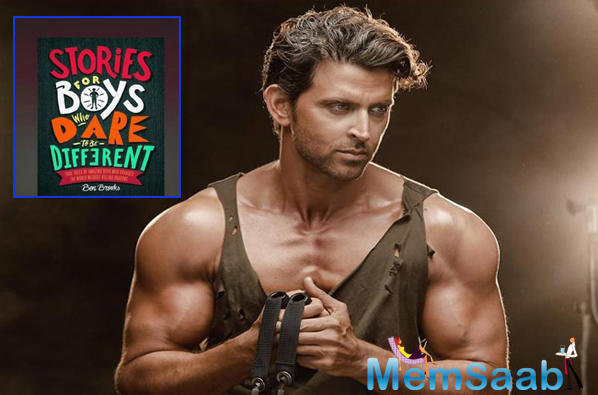 Termed one of the most handsome men in the world, Hrithik Roshan has had his share of struggles and the accounts of the same have found themselves in a book by the International author, Ben Brooks.