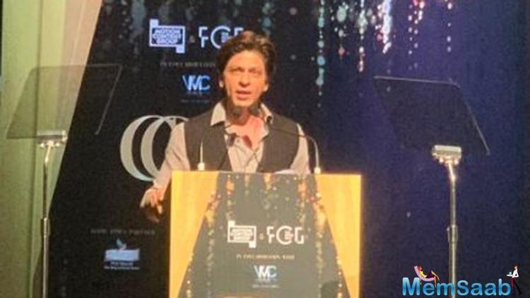 At the awards nite, he began his speech while teasing the audience by saying that they would have expected him to groove to his hit song Chaiyya Chaiyya but he chooses to speak about films and filmmaking.