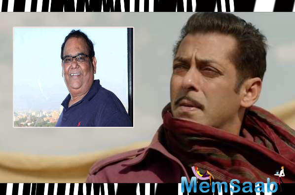 When asked if he has discussed the script with Salman, Kaushik denied approaching the 53-year-old star.