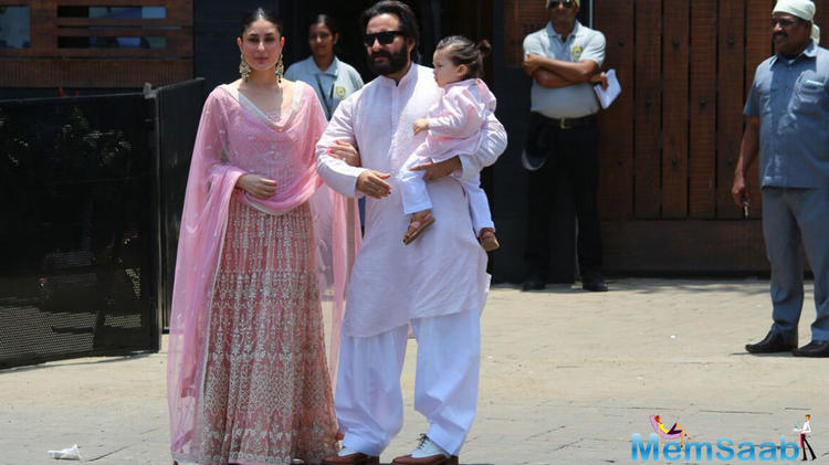 Apart from Saif-Kareena, their little munchkin Taimur has always been stealing the limelight for his adorable looks and presence.