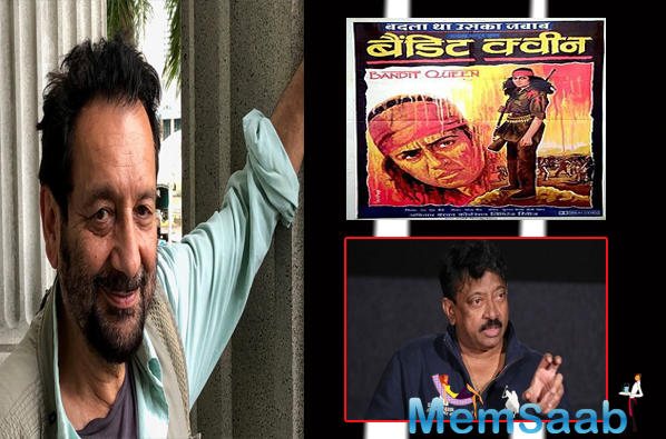 Filmmaker Ram Gopal Varma on Wednesday had praised Kapur's film, which was based on the life of Phoolan Devi.