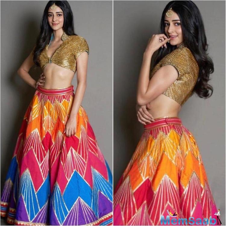 Debutante Ananya Panday, who will be seen in 'Student Of The Year 2', has already shown us her two amazing sides when it comes to style- that she can rock the western and Indian outfits, both.