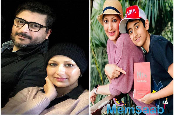 Sonali then spoke about how tough it was for her to tell her son, Ranveer, about her cancer.