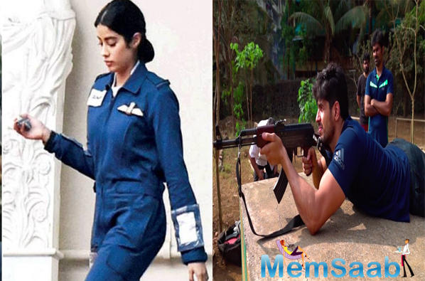 Janhvi Kapoor kicked off the Gunjan Saxena biopic, one of India's first female helicopter pilots to be posted in the Kargil war, in February in Lucknow.