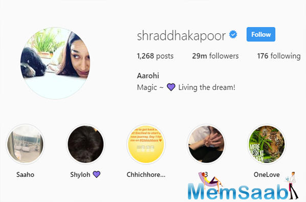 Shraddha Kapoor has changed her username to 'Aarohi' as her blockbuster film 'Aashiqui 2' completes six years today. The actress gets nostalgic as 'Aashiqui 2' marks as a special film for Shraddha Kapoor.
