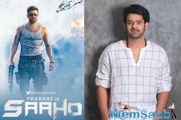 Saaho sees the actor share space with Shraddha Kapoor, who has, on numerous occasions, uninhibitedly expressed her admiration for him.