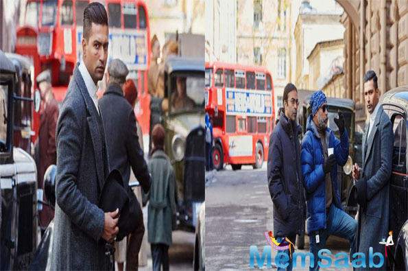 A look of Vicky Kaushal from the sets of his next Udham Singh was unveiled on Tuesday. The film directed by Shoojit Sircar is a biopic on Sardar Udham Singh.