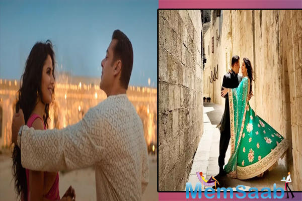 The song has been sung by Abhijeet Srivastava and written by Irshad Kamil, Chashni song from Bharat sees the hottest onscreen couple of the film industry.