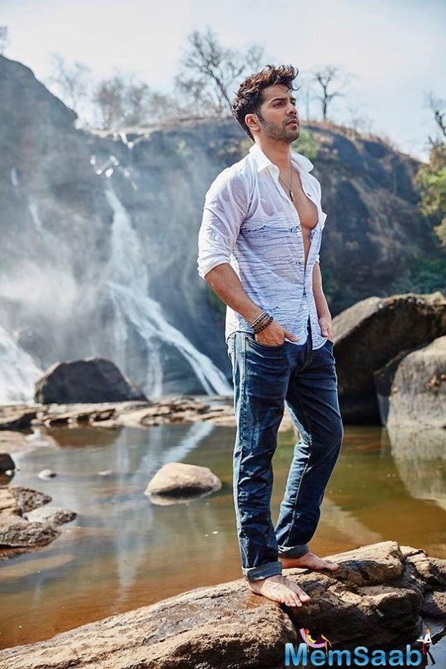 Due to that, Varun is often seen on the cover of magazines as he is considered as an icon. Recently, Varun featured on the cover of a popular fashion magazine and his handsome yet hot avatar will leave you amazed.