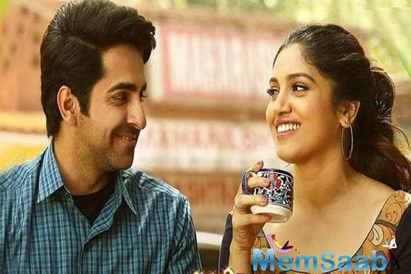 "Ayushmann says, ""Bhumi and I have a great chemistry together because of our equation and I'm glad audiences also loved us in our previous two films which became big hits."