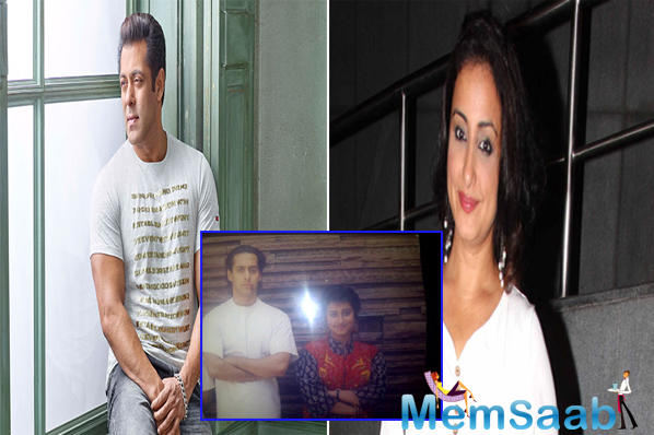 National Award winning actress Divya Dutta shared a throwback picture with Salman Khan from the past and we couldn't stop ourselves from feeling nostalgic about the 90's era.