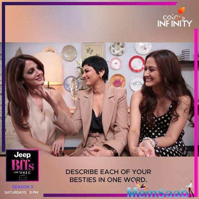The trio recently shot for BFFs With Vogue which is hosted by Neha Dhupia. On the show, Sonali shared how she felt when she first got to know that she is diagnosed with cancer.