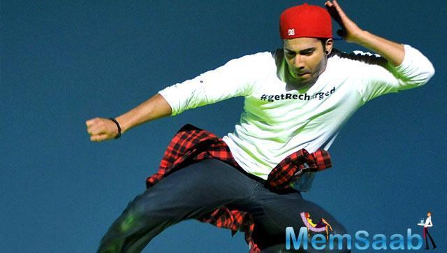 Today, Varun shared yet another video of himself swaying to some hip-hop. The 17-second-long video showcases Varun displaying a diverse range of steps.