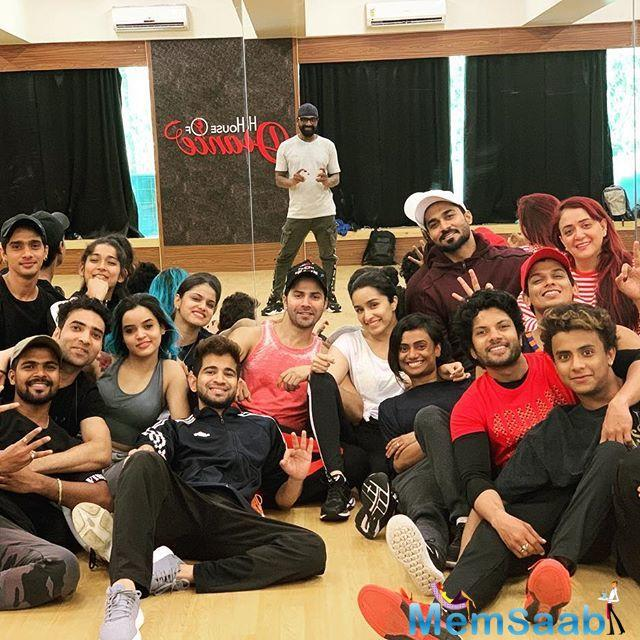 Varun Dhawan and Shraddha Kapoor were recently in London with Remo D'souza's team. They were busy shooting for their upcoming film 'Street Dancer 3D'.