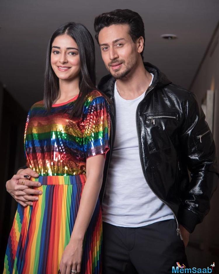 Ananya is awaiting the release of her debut film Student Of The Year 2 in which she co-stars with Tiger Shroff,