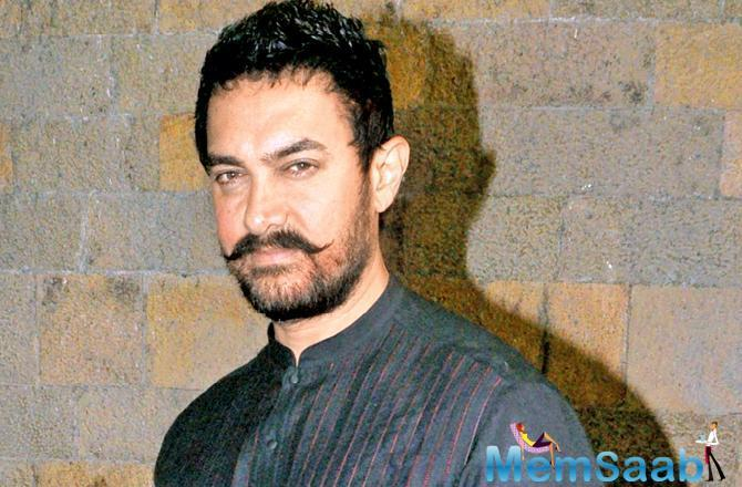 In a first of its kind, Aamir will slip into a character and is set to deliver yet another never done before role with his upcoming next.