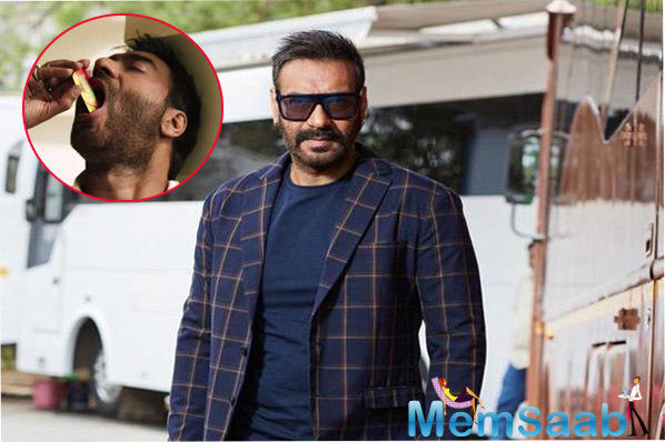 Nanakram, a 40-year old cancer patient from Rajasthan, has made a public appeal to Bollywood actor Ajay Devgn to stop doing advertisement of tobacco products in the interest of the society.