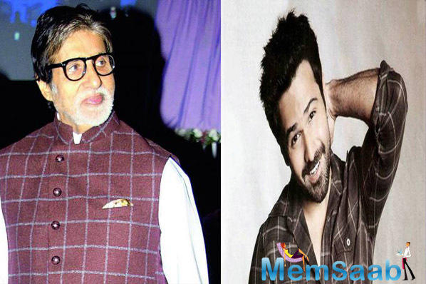This week will see Amitabh Bachchan and Emraan Hashmi facing the camera together for the first time when they pair up for Rumi Jafry's untitled film for producer Anand Pandit.