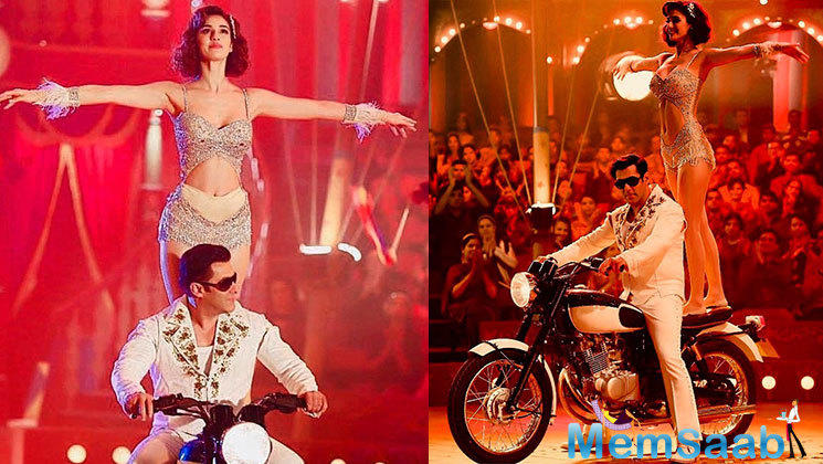 The first song from the album 'Slow Motion' has garnered immense appreciation from all across, where the killer moves of Disha Patani shaking a leg with the superstar Salman Khan is a treat to watch.