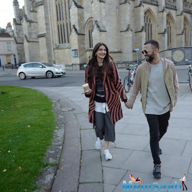 To describe how it is to spend a year as a married couple, Anand Ahuja shared an emotional and soul-stirring post for his actor-wife, Sonam Kapoor.