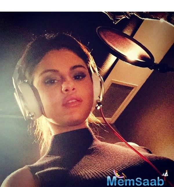 Selena simply wrote,