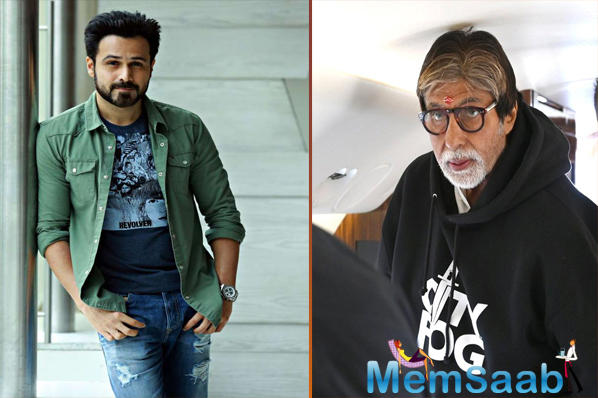Amitabh Bachchan and Emraan Hashmi's much-awaited film together will be titled 'Chehre' and is all set to go on floors from today in Mumbai.