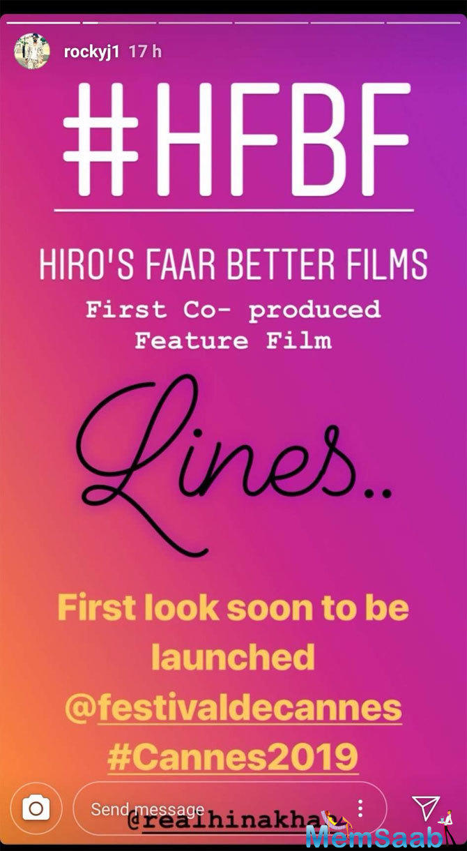 As Hina Khan is all set to make her debut at the prestigious Cannes Film Festival this year, the fashionista is leaving no stone unturned to grab eyeballs in the overseas arena.