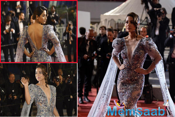 Popular TV actress Hina Khan has recently made stunning debut at the red carpet of the  Cannes Film Festival 2019.