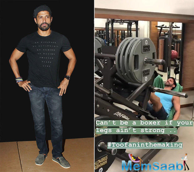 Farhan Akhtar is well known for getting into the skin of his character and he has proved it time and again on the silver screen.