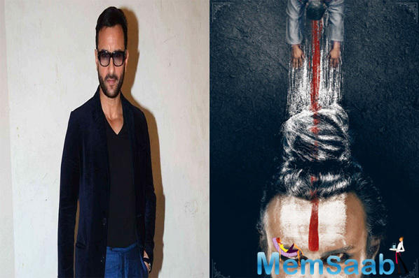 One half of two warring brothers, Saif Ali Khan's role of a Naga Sadhu in Navdeep Singh's upcoming revenge drama gained attention last year when photos of the actor in character, went viral.